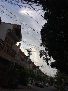雨が降りそうな空模様