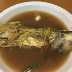 白身魚の梅肉煮