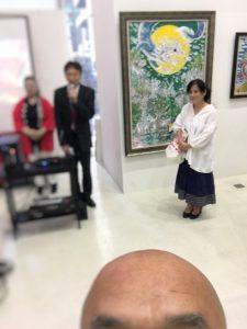 阿部恭子先生個展×九州のお酒の会