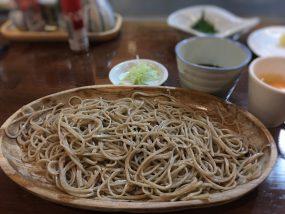 〆は盛り蕎麦