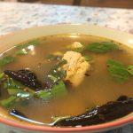 淡水魚入トムヤムスープ