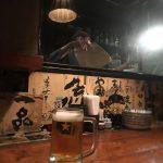 サッポロビール生で乾杯。