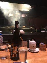 煙っていますが田中シェフ
