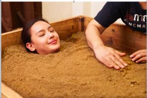 at easeの米ぬか酵素風呂