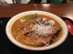 担々麺・牡蠣トッピング